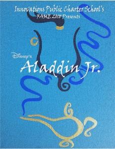 Aladdin Promo Art for Ticketing